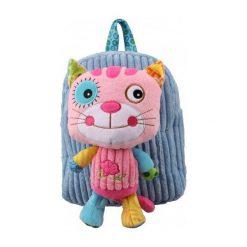 Plecak Kot niebiesko-różowy  (234165). Torby i plecaki dziecięce marki Tuloko. Za 57.99 zł.