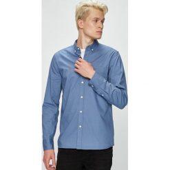 Mustang - Koszula. Niebieskie koszule męskie Mustang, z bawełny, button down, z długim rękawem. W wyprzedaży za 99.90 zł.