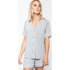 Dkny - Piżama New Signature. Szare piżamy damskie DKNY, z bawełny. Za 349.90 zł.