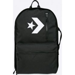 Converse - Plecak. Czarne plecaki damskie Converse, z poliesteru. Za 349.90 zł.
