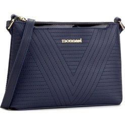 Torebka MONNARI - BAGA022-013 Navy. Niebieskie torebki do ręki damskie Monnari, ze skóry ekologicznej. W wyprzedaży za 119.00 zł.