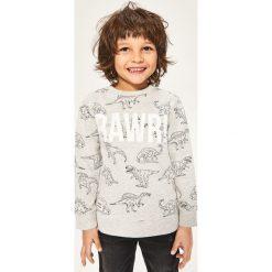 Bluza z nadrukiem dinozaurów - Beżowy. Bluzy dla chłopców marki Pollena Savona. W wyprzedaży za 29.99 zł.