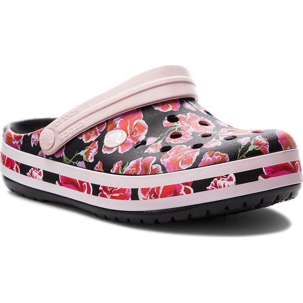a2a87380a3941 Klapki CROCS - Crocband Graphic III Clog 205330 Floral/Black ...
