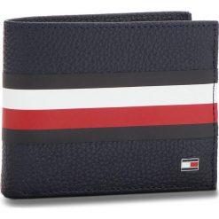Duży Portfel Męski TOMMY HILFIGER - Block Stripe Mini Cc AM0AM03875 413. Niebieskie portfele męskie Tommy Hilfiger, ze skóry ekologicznej. Za 229.00 zł.