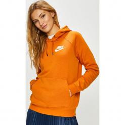Nike Sportswear - Bluza. Pomarańczowe bluzy damskie Nike Sportswear, z bawełny. Za 239.90 zł.