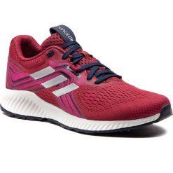 Buty adidas - Aerobounce 2 W AQ0539 Nobmar/Silvmt/Reamag. Czerwone obuwie sportowe damskie Adidas, z materiału. Za 399.00 zł.