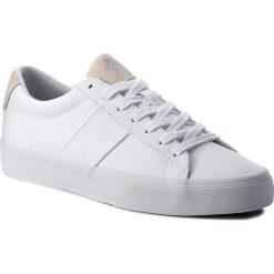 Tenisówki POLO RALPH LAUREN - Sayer 816688479003 White. Białe trampki męskie Polo Ralph Lauren, z gumy. W wyprzedaży za 259.00 zł.
