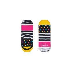 Skarpetki LINER Happy Socks SDO06-9000. Szare skarpety męskie Happy Socks, w kolorowe wzory. Za 19.53 zł.
