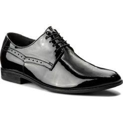 Półbuty LASOCKI FOR MEN - TA-LL37 Czarny. Czarne eleganckie półbuty Lasocki For Men, z lakierowanej skóry. Za 229.99 zł.