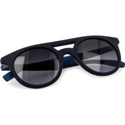 Okulary przeciwsłoneczne BOSS - 0266/S Blue Hvnblue I8V. Niebieskie okulary przeciwsłoneczne damskie Boss. W wyprzedaży za 379.00 zł.