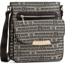 Torebka MONNARI - BAG7470-020 Black. Czarne torebki do ręki damskie Monnari, z materiału. W wyprzedaży za 129.00 zł.