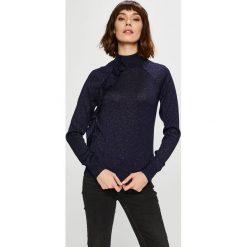 Trendyol - Sweter. Czarne swetry damskie Trendyol, z dzianiny. Za 79.90 zł.