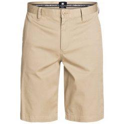 DC Spodenki Worker Roomy 22 Short Khaki 32. Brązowe krótkie spodenki sportowe męskie DC, z bawełny. W wyprzedaży za 126.00 zł.