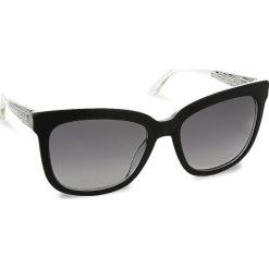 Okulary przeciwsłoneczne BOSS - 0850/S Blkcry/Cryst GAD. Czarne okulary przeciwsłoneczne damskie Boss. W wyprzedaży za 669.00 zł.