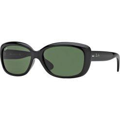 Ray-Ban - Okulary Jackie Ohh. Brązowe okulary przeciwsłoneczne męskie Ray-Ban, z materiału. Za 499.90 zł.