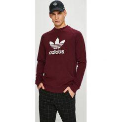 Adidas Originals - Bluza. Brązowe bluzy męskie adidas Originals, z nadrukiem, z bawełny. Za 249.90 zł.