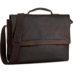 Torba na laptopa STRELLSON - Camden 4010002282 Dark Brown 702. Torby na laptopa męskie marki Piquadro. W wyprzedaży za 569.00 zł.