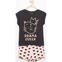 Piżama z kotem - Czarny. Bielizna dla chłopców Reserved. Za 29.99 zł.