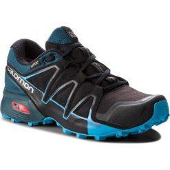 Buty SALOMON - Speedcross Vario 2 Gtx GORE-TEX 404673 27 V0 Black/Reflecting Pond/Hawaiian Surf. Czarne buty sportowe męskie Salomon, z gore-texu. W wyprzedaży za 449.00 zł.