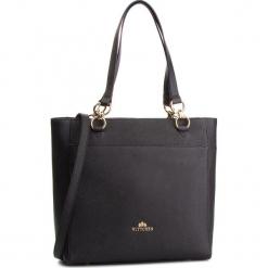 Torebka WITTCHEN - 87-4E-415-1 Czarny. Czarne torebki do ręki damskie Wittchen, ze skóry. W wyprzedaży za 519.00 zł.