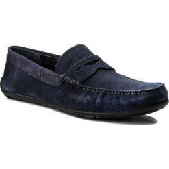 Mokasyny JOOP! - Zenon 4140003959 Dark Blue 402. Niebieskie mokasyny męskie JOOP!, z materiału. W wyprzedaży za 399.00 zł.