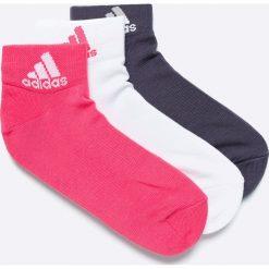 Adidas Performance - Skarpetki (3-pack). Szare skarpety damskie adidas Performance. W wyprzedaży za 29.90 zł.