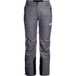Spodnie narciarskie damskie Polska Pyeongchang 2018 SPDN900R - szary melanż. Szare spodnie materiałowe damskie 4f, melanż, z dzianiny. W wyprzedaży za 699.95 zł.