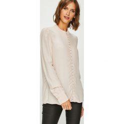 Vero Moda - Koszula. Szare koszule damskie Vero Moda, z tkaniny, casualowe, z długim rękawem. Za 169.90 zł.