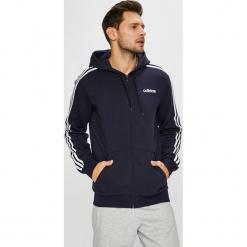 Adidas Performance - Bluza. Szare bluzy męskie adidas Performance, z aplikacjami, z bawełny. Za 249.90 zł.