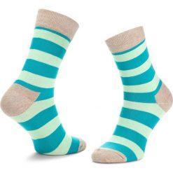 Skarpety Wysokie Unisex HAPPY SOCKS - STR01-1000 Kolorowy. Skarpety damskie Happy Socks, w kolorowe wzory, z bawełny. Za 34.90 zł.