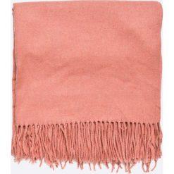 Pieces - Szal Jira. Pomarańczowe szaliki i chusty damskie Pieces, z tkaniny. W wyprzedaży za 69.90 zł.