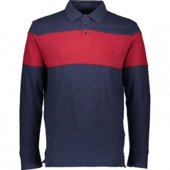 Koszulka polo w kolorze granatowo-czerwonym. Koszulki polo męskie marki INESIS. W wyprzedaży za 99.95 zł.
