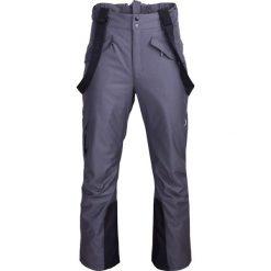 Spodnie narciarskie męskie SPMN601 - ciemny szary melanż - Outhorn. Szare spodnie snowboardowe męskie Outhorn, melanż. Za 249.99 zł.