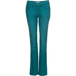 Dżinsy ze stretchem kolorowe STRAIGHT bonprix kobaltowo-turkusowy. Jeansy damskie marki bonprix. Za 109.99 zł.