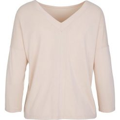 """Koszulka """"Pearl"""" w kolorze beżowym. T-shirty damskie Frieda Sand, z bawełny. W wyprzedaży za 65.95 zł."""