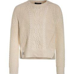 Polo Ralph Lauren Sweter cream. Swetry dla dziewczynek Polo Ralph Lauren, z bawełny, polo. Za 459.00 zł.