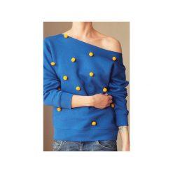 Pompony wybierz kolor bluza s-xxl z. Żółte bluzy damskie One mug a day, z bawełny. Za 159.00 zł.