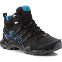 Buty adidas - Terrex Swift R2 Mid Gtx GORE-TEX AC7771 Cblack/Cblack/Brblue. Czarne trekkingi męskie Adidas, z gore-texu. W wyprzedaży za 509.00 zł.