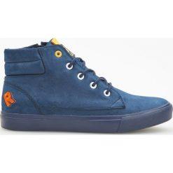 Sneakersy za kostkę - Granatowy. Buty sportowe chłopięce marki bonprix. W wyprzedaży za 39.99 zł.
