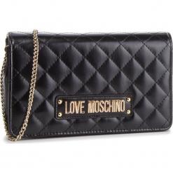 Torebka LOVE MOSCHINO - JC4118PP17LA0000 Nero. Czarne torebki do ręki damskie Love Moschino, ze skóry ekologicznej. Za 479.00 zł.