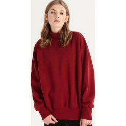 Bluza z półgolfem - Bordowy. Czerwone bluzy damskie Sinsay. Za 59.99 zł.