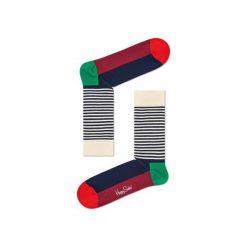 Skarpetki Happy Socks - Holiday XMAS (HAS01-7000). Szare skarpety męskie Happy Socks, w kolorowe wzory, z bawełny. Za 34.90 zł.