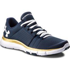 Buty UNDER ARMOUR - Ua Strive 7 Nm 3020750-400 Nvy. Niebieskie buty sportowe męskie Under Armour, z materiału. W wyprzedaży za 209.00 zł.