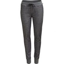 Spodnie dresowe damskie SPDD603 - CZARNY MELANŻ - Outhorn. Czarne spodnie dresowe damskie Outhorn, na jesień, melanż, z dresówki. W wyprzedaży za 62.99 zł.