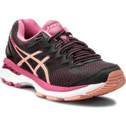 Buty ASICS - Gt-2000 4 T659N Black/Peach Melba/Sport Pink 9076. Czarne obuwie sportowe damskie Asics, z materiału. W wyprzedaży za 319.00 zł.