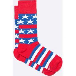 Soxy - Skarpety Americano. Czerwone skarpety męskie Soxy, z bawełny. W wyprzedaży za 17.90 zł.