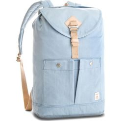 Plecak DOUGHNUT - D111-0058-F Montana Light Blue. Niebieskie plecaki damskie Doughnut, z materiału. Za 299.00 zł.