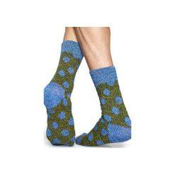 Skarpetki WOOL Happy Socks WBD022-6000. Szare skarpety męskie Happy Socks, z tkaniny. Za 38.49 zł.