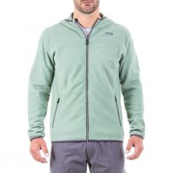Bluza polarowa w kolorze zielonym. Zielone bluzy męskie Jeep, z polaru. W wyprzedaży za 112.95 zł.