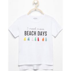 T-shirt z kolorowymi chwostami - Biały. T-shirty damskie marki bonprix. W wyprzedaży za 14.99 zł.